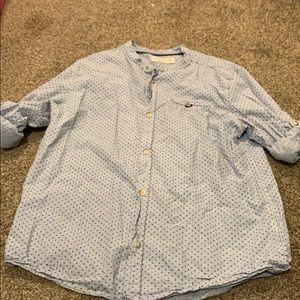Zara Mandarin color long-sleeved shirt size 11/12